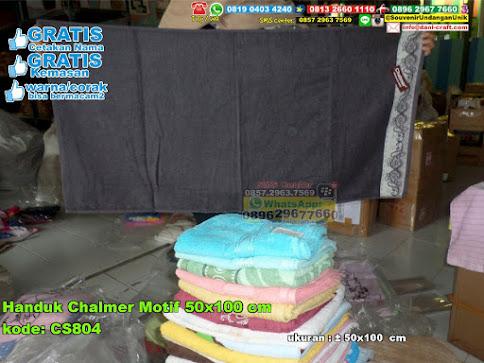 Handuk Chalmer Motif 50×100 Cm