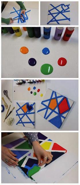 cara membuat dekorasi ruangan yang unik