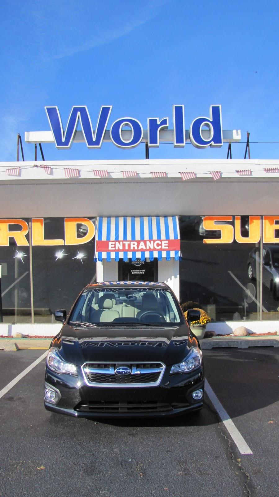 world jeep subaru all new 2012 subaru impreza at world subaru in tinton falls. Black Bedroom Furniture Sets. Home Design Ideas