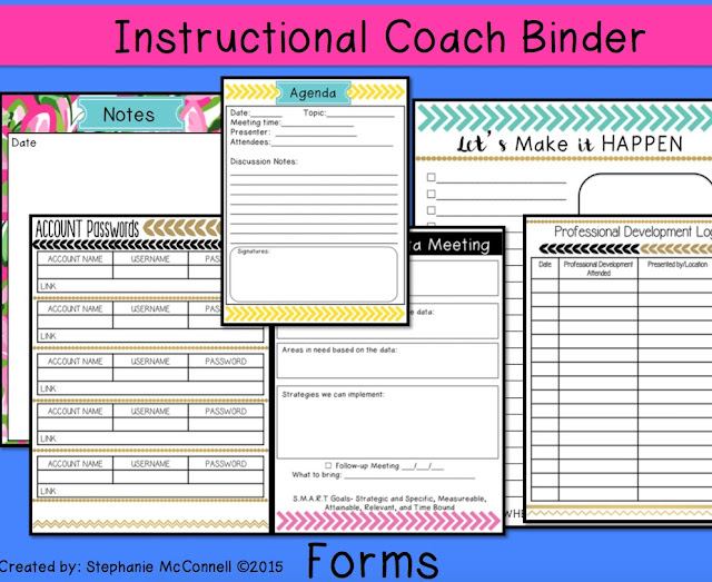 https://www.teacherspayteachers.com/Product/Instructional-Coach-Binder-1941221