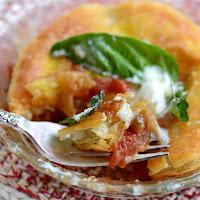 Roasted Tomato and Caramelized Onion Tart