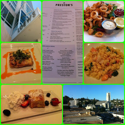 Preston's restaurant in Loews Hollywood review