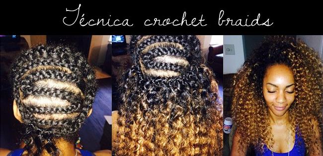 Com que tranca eu vou?: Crochet Braids.