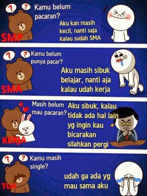 20 Gambar Lucu Meme Comic Indonesia Jomblo 2014