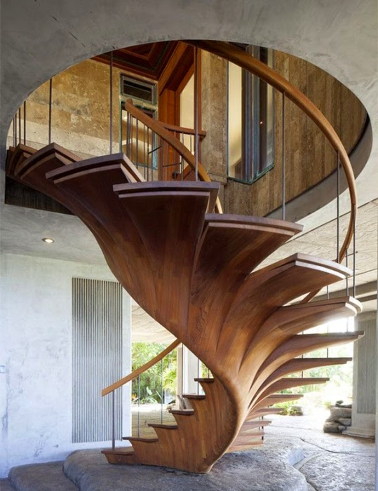 tree crown stairs design