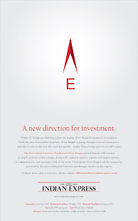 Ad for TNIE West Bengal feature