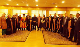 Mansoura University - Graduation day of a new batch from Mansoura Manchester programme , Egypt.