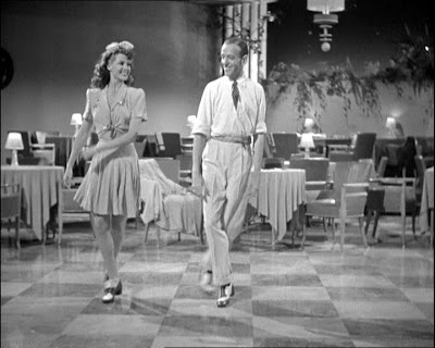 Fred Astaire dances with Rita Heyworth in You Were Never Lovelier, Columbia 1942