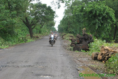 state of karjat murbad road national highway