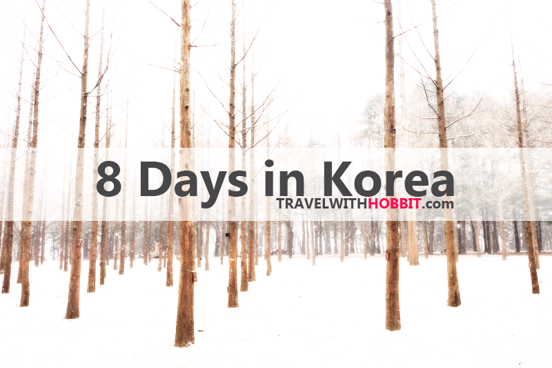 Budget Seoul Korea Winter Holiday Itenerary