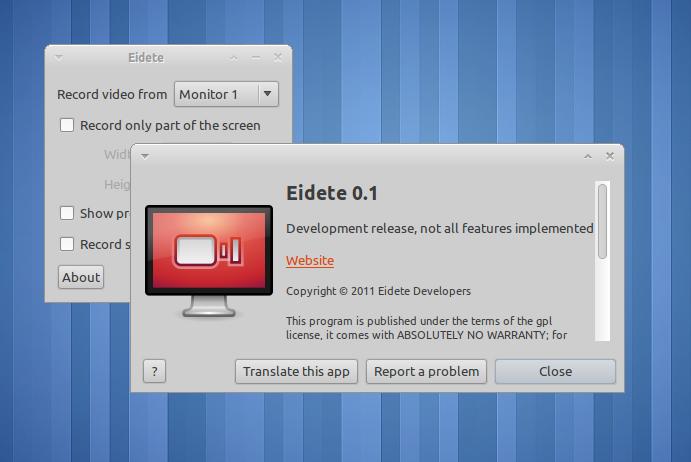 Rekam aktivitas di layar dengan Eidete