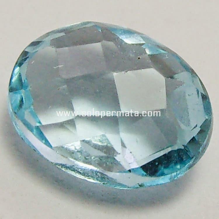 Batu Permata Swiss Blue Topaz
