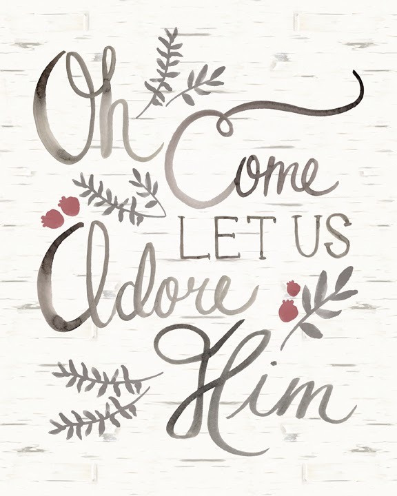 Penelope poppy oh come let us adore him for Christmas inspirational quotes free