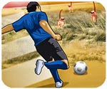 Game đá bóng ở châu Phi