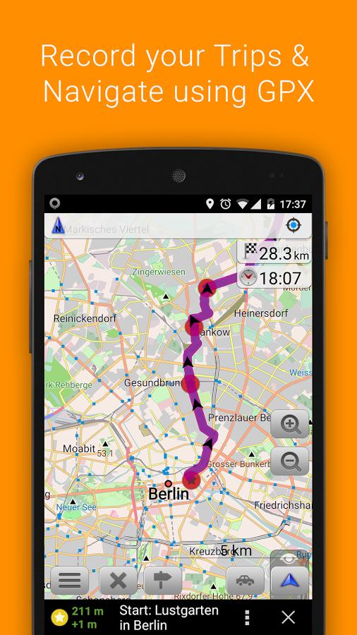 лучший навигатор для андроид без интернета - фото 8