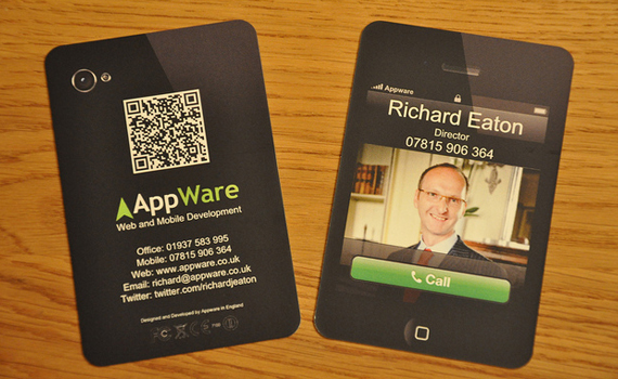 AppWare iPhone Business Card