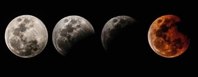 Gambar Gerhana 8 Oktober Bulan 2014