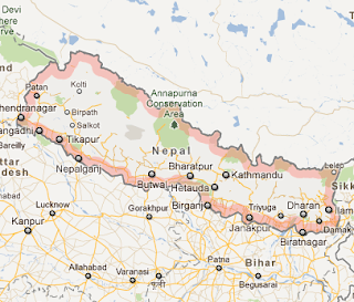 """Nepal_google_satellite_map_recent_earthquakes_in_nepal"""