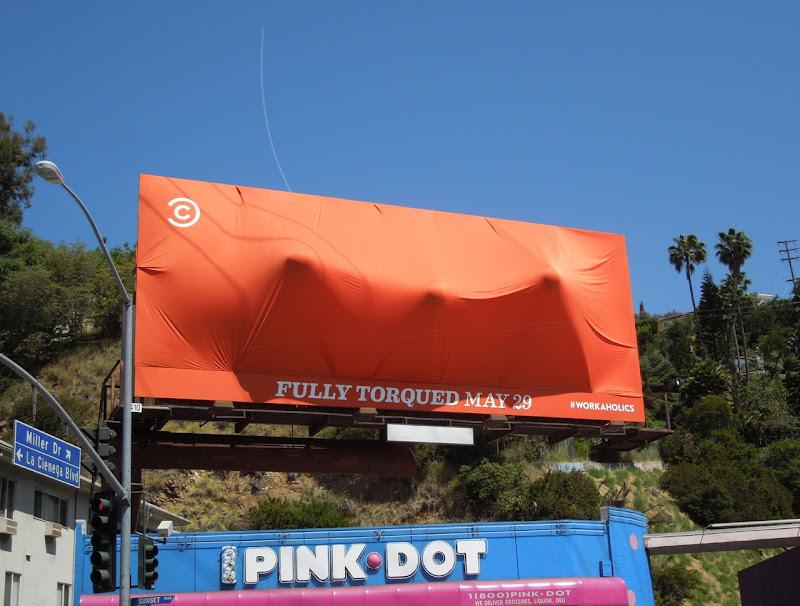Workaholics Fully Torqued season 3 special installation billboard