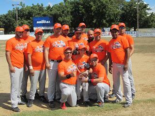 Equipo de la Liga softbol Manzanillera