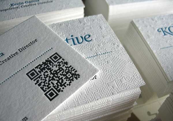 Awesome Ideas For Clean White Business Cards