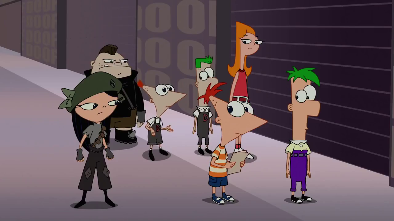 Phineas And Ferb The Movie Across The 2nd Dimension Hindi