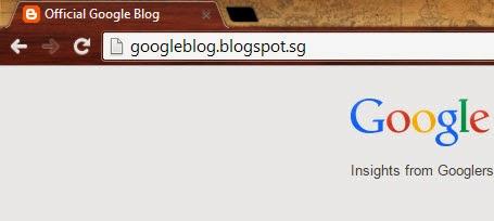 Blogspot domain redirect