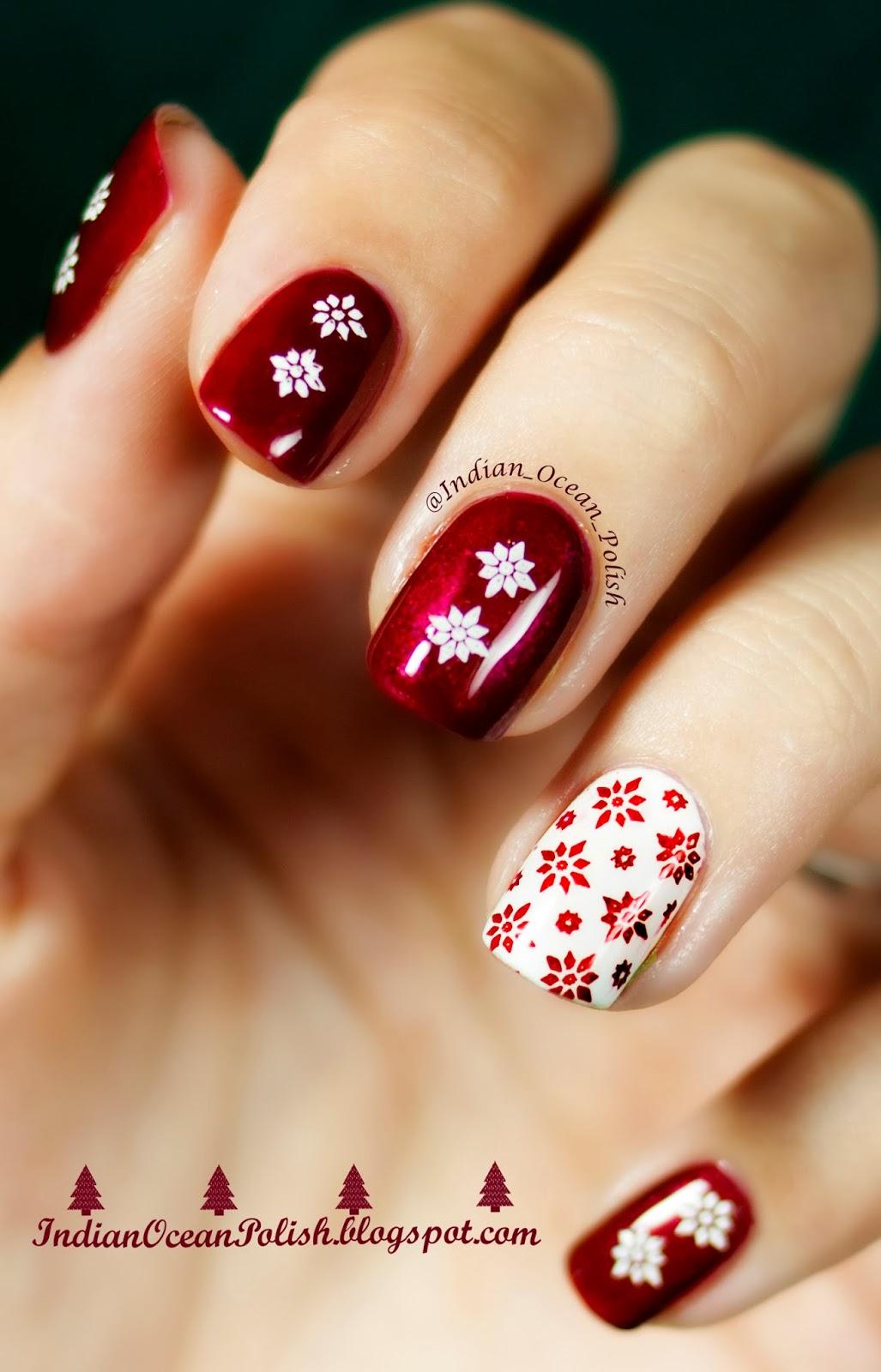 christmas nail colors 2018