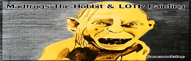 Madfrogs The Hobbit & LOTR Painting (Gamesworkshop)