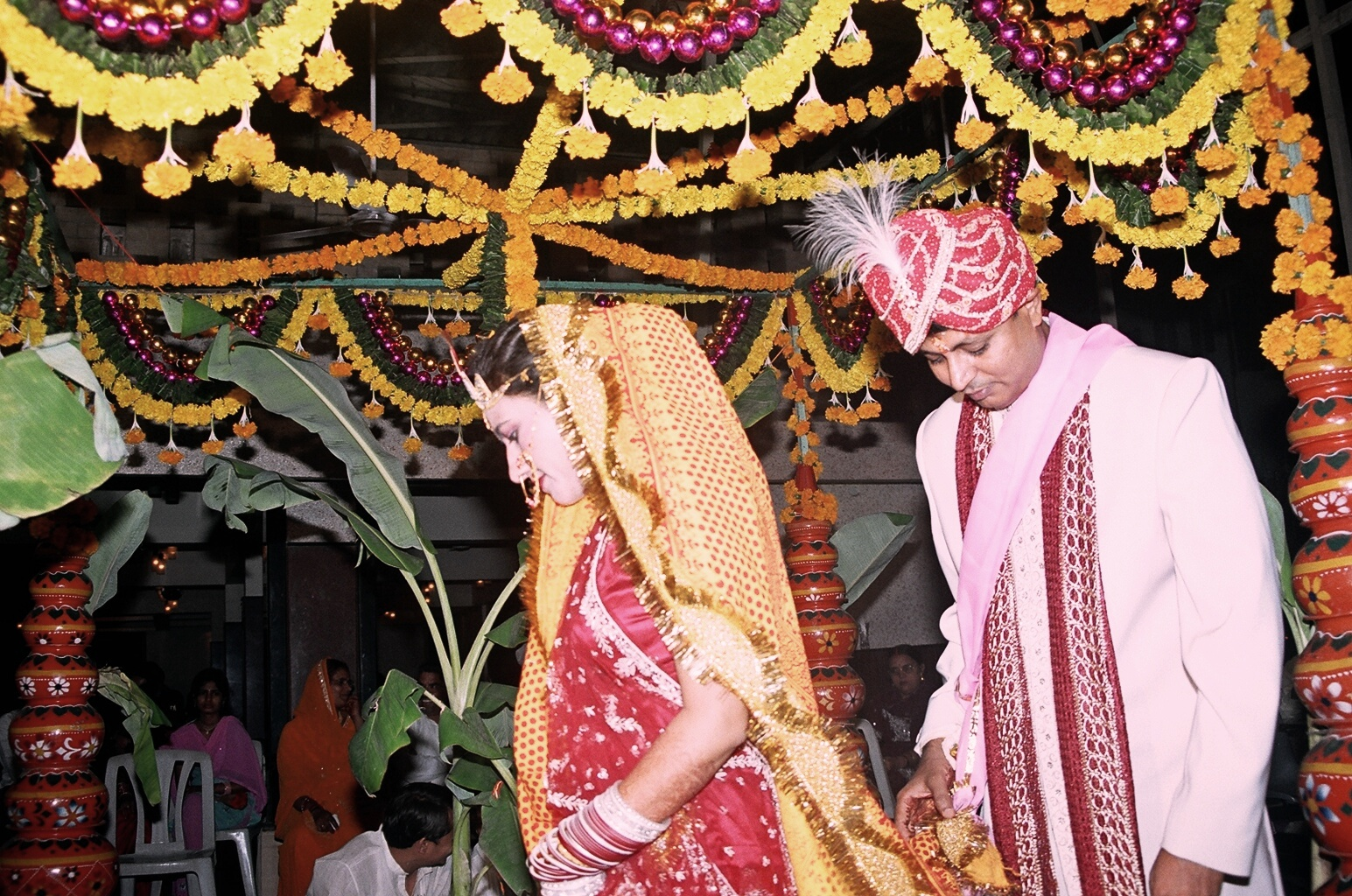 """arranged marriage in india """"marriage in india is always romanticized, which is problematic,""""  """"i think in the  west it's often assumed [arranged marriage] is forced,."""