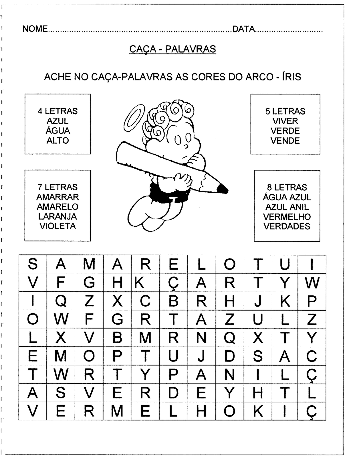 Atividades Diversas Para Alfabetiza    O