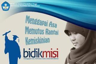 Persyaratan Pendaftaran Program Bidikmisi (Terbaru) 2013