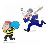 Juego polis y cacos, polis y ladrones