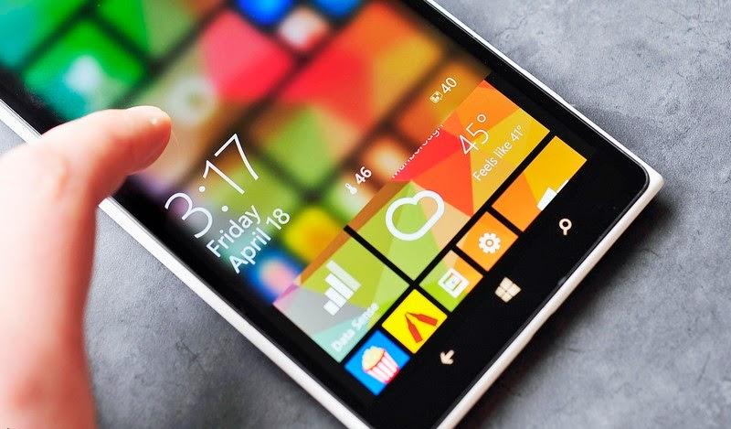transparent lockscreen for windows phone