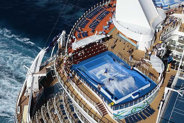 cruise line, like many young adults, is Royal Caribbean, and why not?