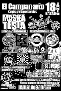 Maskatesta y Royal Club en Puebla