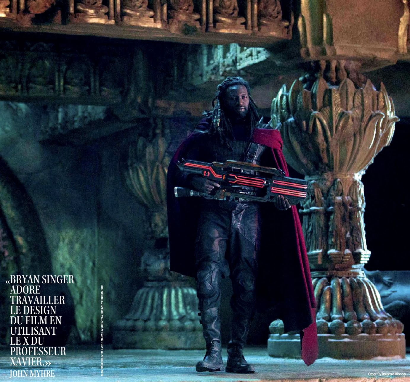 Men Days of Future Past – Omar Sy is Bishop : Teaser Trailer X Men Days Of Future Past Bishop