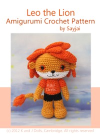 Leo the Lion Crochet Pattern on Amazon