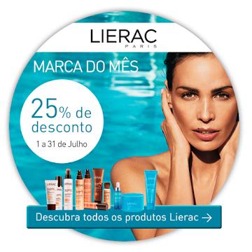 Todos os produtos LIERAC com 25% de Desconto!