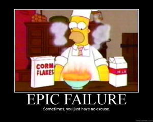 Epic Failure