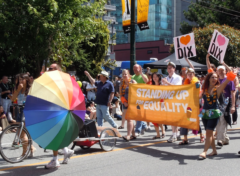 Vancouver Pride Parade Equality