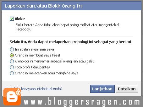 Cara Blokir Facebook Teman