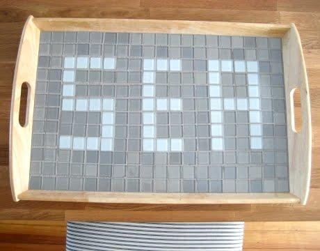Ikea hack with tray