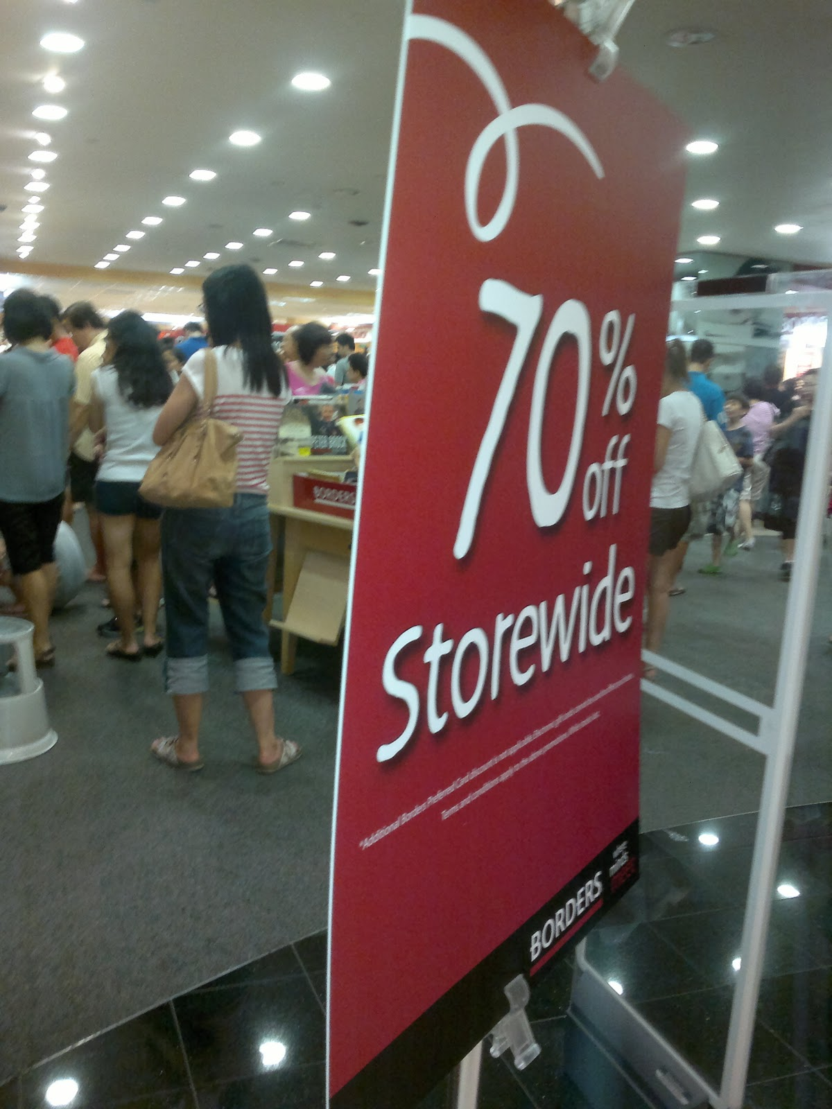 Borders Closing Down Sale Closing Down Sale at Parkway 39 s