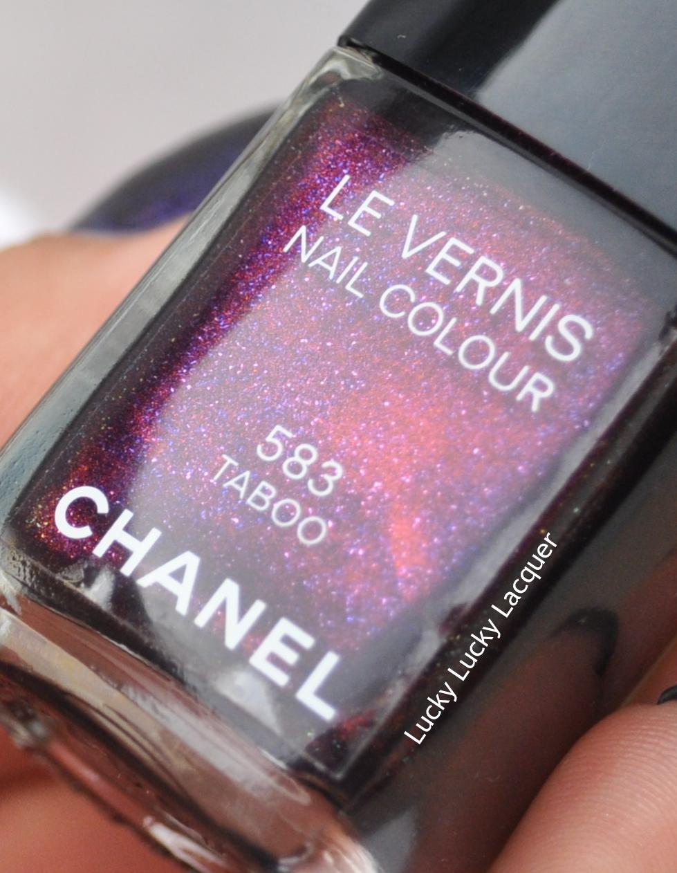 Lucky Lucky Lacquer: Chanel Le Vernis 583 Taboo