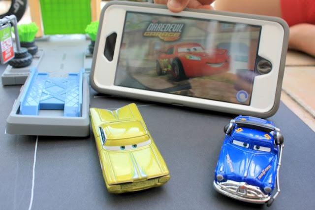 Indoor Fun With Disney Pixar Cars and the Cars Daredevil App #DisneyPixarCarsToGo #ad