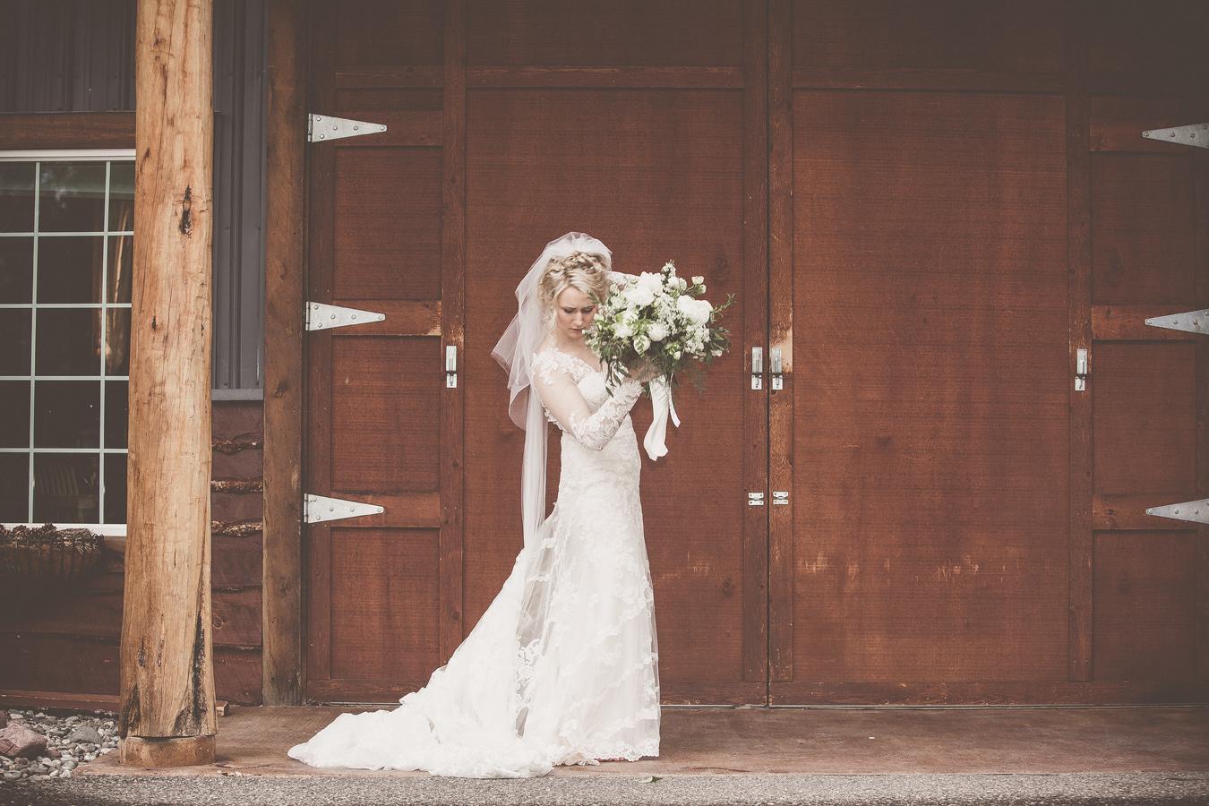 wedding dress / rockin' tj ranch / photography Braden Tenney