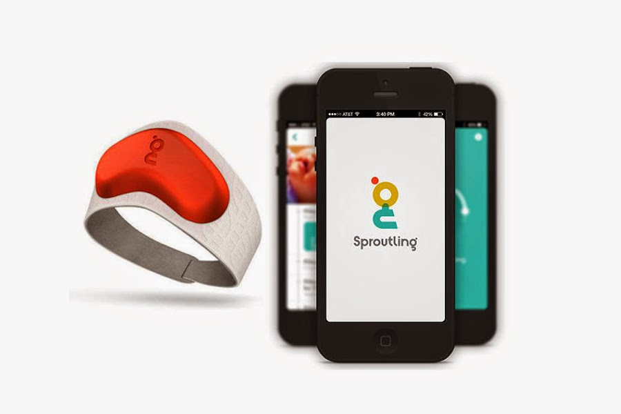 Sproutling Baby Monitor wearable device