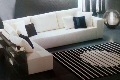 Blanco y negro para el salón
