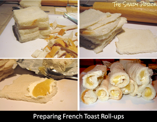 French Toast Roll-ups #snack #dessert #breakfast #creamcheese